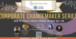 Garage Academy x NSM: Corporate Change Maker Series #1