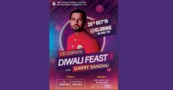 Garry Sandhu Hong Kong Diwali Feast 2019