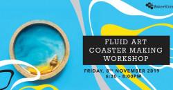 Fluid Art | Coaster Making Workshop