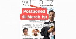 MattQuiz a Live Recording