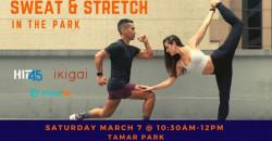 Sweat & Stretch In The Park