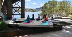 Free yoga to celebrate International Women's Day