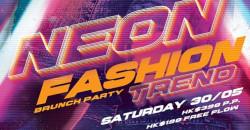 We Love 80's Brunch: Neon Fashion