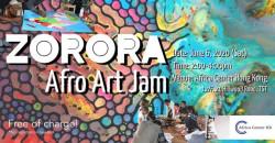 Zorora Afro Art Jam