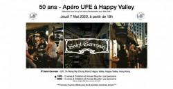 50 ans - apéro UFE à Happy Valley