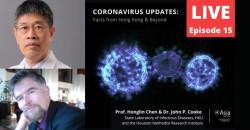 Coronavirus Updates with Prof Honglin Chen and Dr John P Cook