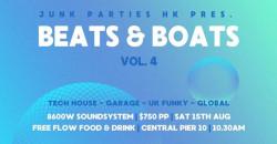 BEATS & BOATS Vol 4 pres. by Junk Parties HK