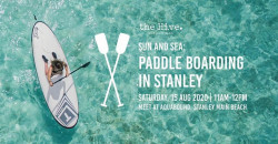 Sun and Sea: Paddle Boarding in Stanley