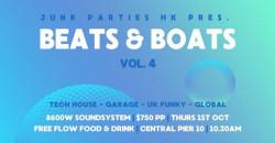 BEATS & BOATS Vol 4 / Junk Paties HK