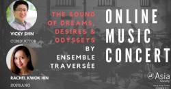 The Sound of Dreams, Desires & Odysseys by Ensemble Traversée