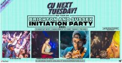 CU Next Tuesday x Brighton vs Sussex Initiation Party