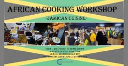 African Cooking Workshop -Jamaican Cuisine