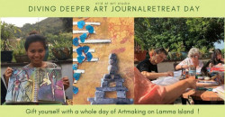 Diving Deeper Art Journaling Retreat