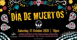 Día de Muertos - Halloween Party at Lobster Bar