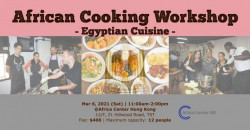 African Cooking Workshop -Egyptian Cuisine