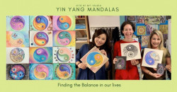 Yin Yang Mandalas: Finding the Balance in our Lives