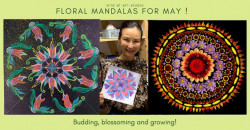 Floral Mandalas for May