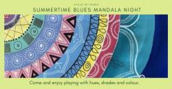 Summertime Blues Mandalas
