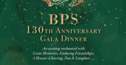 BPS 130th Anniversary Gala Dinner