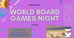 World Board Games Night