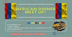 African Dinner Meetup (Colombia Cuisine)